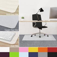 casa pura Office Chair Mats for Carpeted Floors - 30