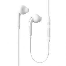 Samsung OEM Wired 3.5mm Headset for Samsung Galaxy S7 & S7 Edge, Bulk Packaging - White (Bulk Packaging)