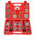 8milelake Brake Caliper Wind Back Tool 22pc professional disc brake caliper tool set